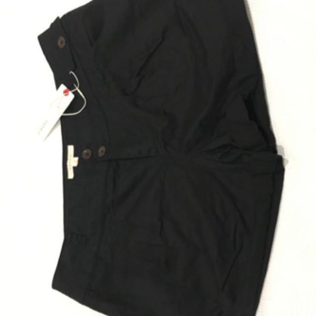 Black Esprit Shorts