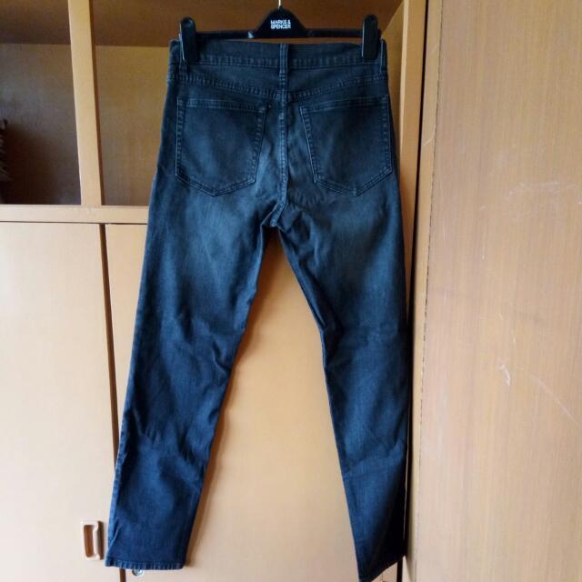 Jeans Black Slim Fit Size34