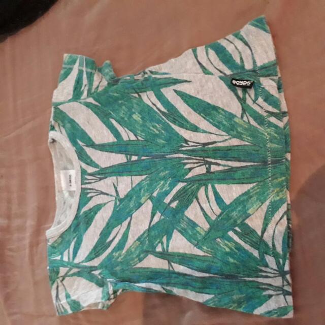 Bonds Tiki Leaf Tee