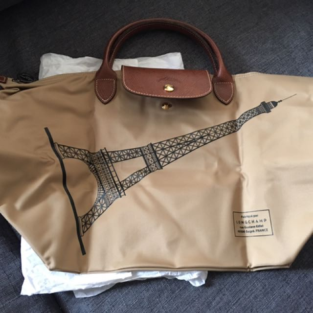 Brand new authentic  Longchamp Eiffel Tower Limited Edition Handbag