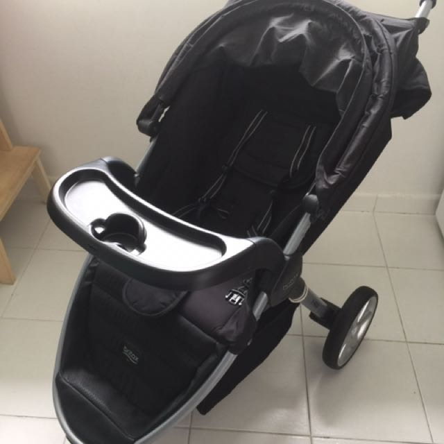 Britax B Agile With Detachable Tray 2012 Model Stroller Tray 120 Stroller Without Tray 100 Tray Alone 30