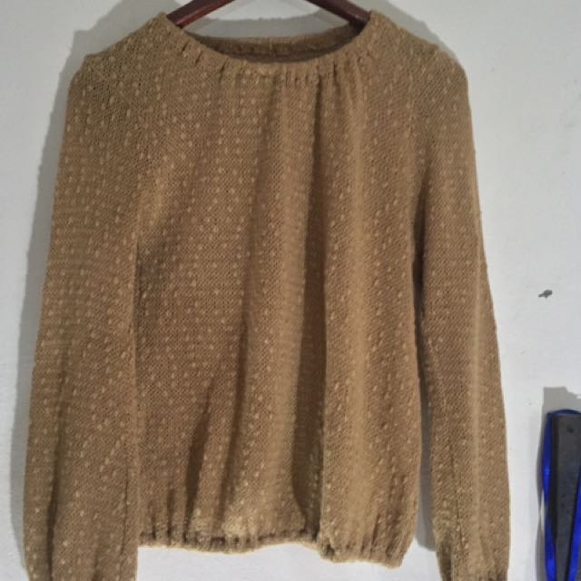 Brownie Sweater