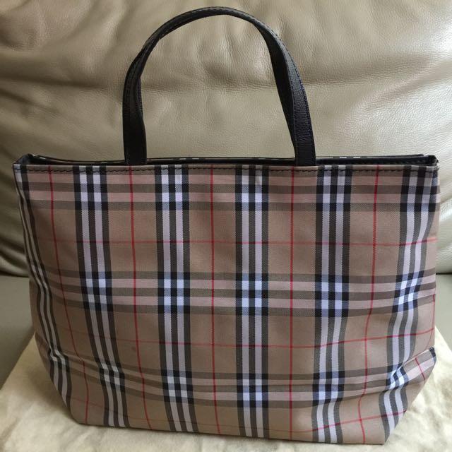 Burberry Haymarket Handbag