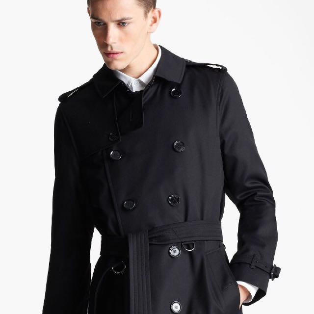 Luxury Burberry For Men Apparel Britton Trench Carousell On Coat 11wO7B