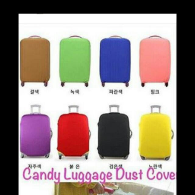 Candy Lugage Dust Cover
