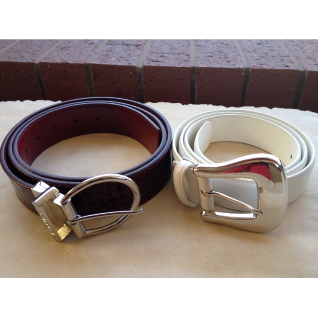 CARPISA and FERGI Ladies Belts