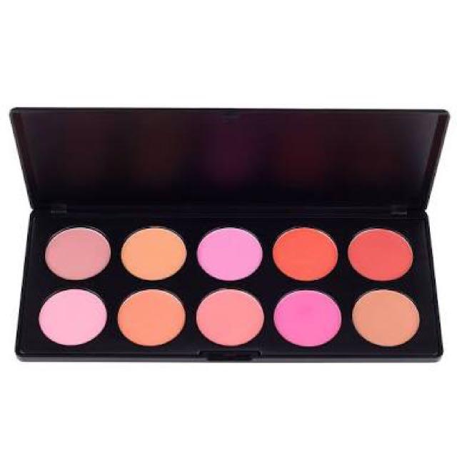 COASTAL SCENTS 10 Blush Palette