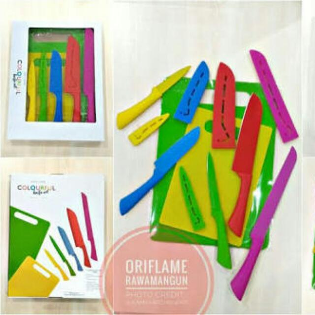 Colourful Knife Set Oriflame