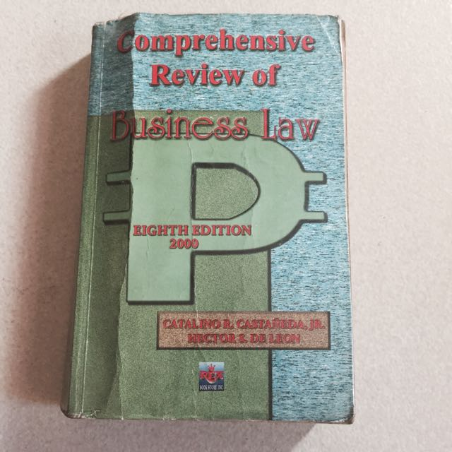 Comprehensive Review Of Business Law