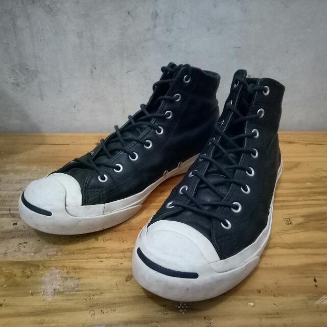 Converse Hi Jack Purcell Leather