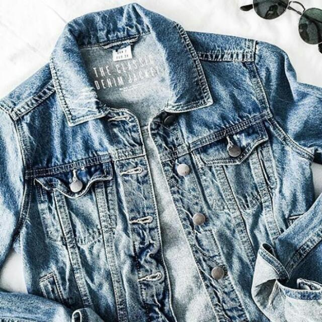 Cotton On Denim Jacket xs