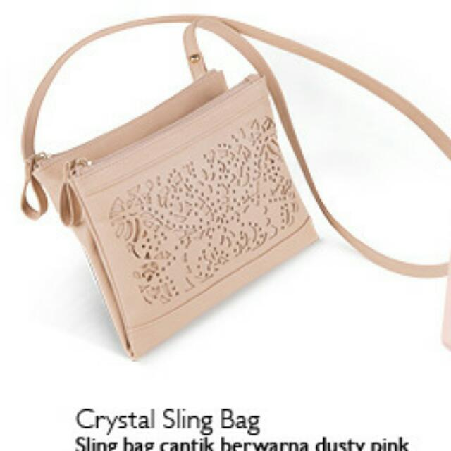 Crystal Sling Bag