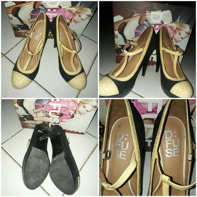 D Fuse Heels (SALE 2 SHOES)