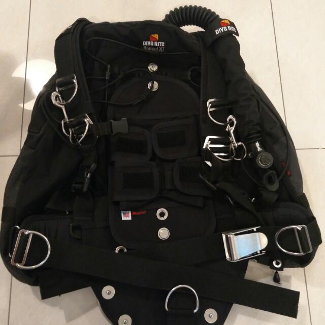 Dive Rite Nomad XT Sidemount  Dive Diving Scuba Tech BCD