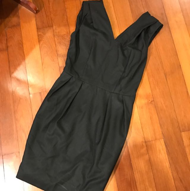 DKNY Cut Label Black Tulip Work Dress US4 *REDUCED*