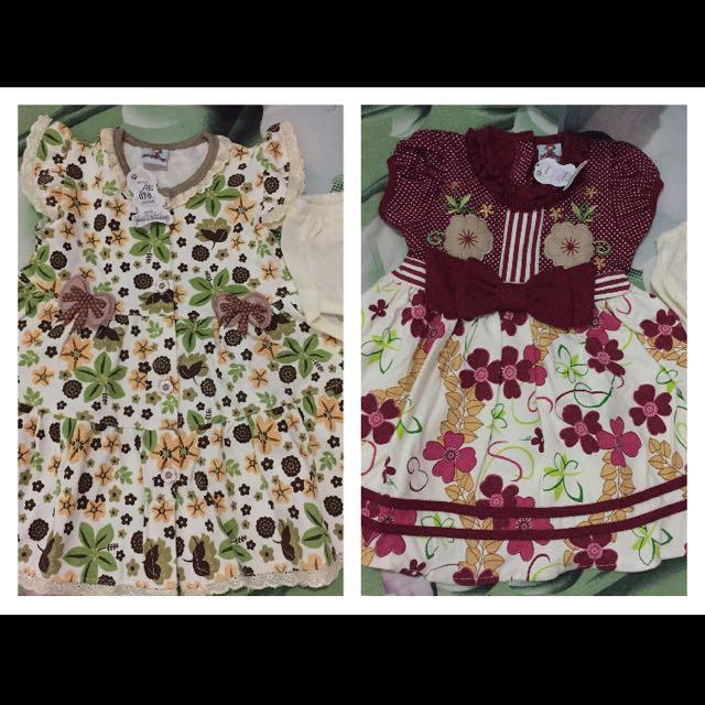 Dress girl 1-2y