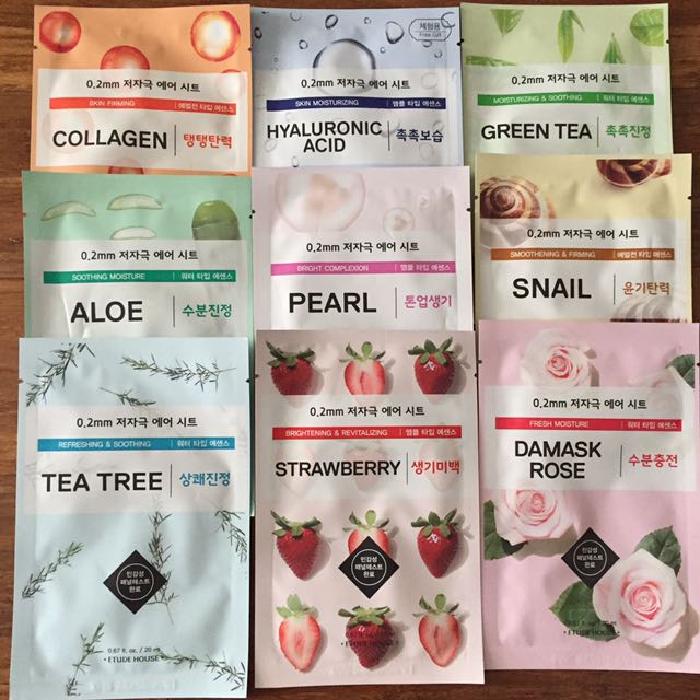 Etude House Facial Masks
