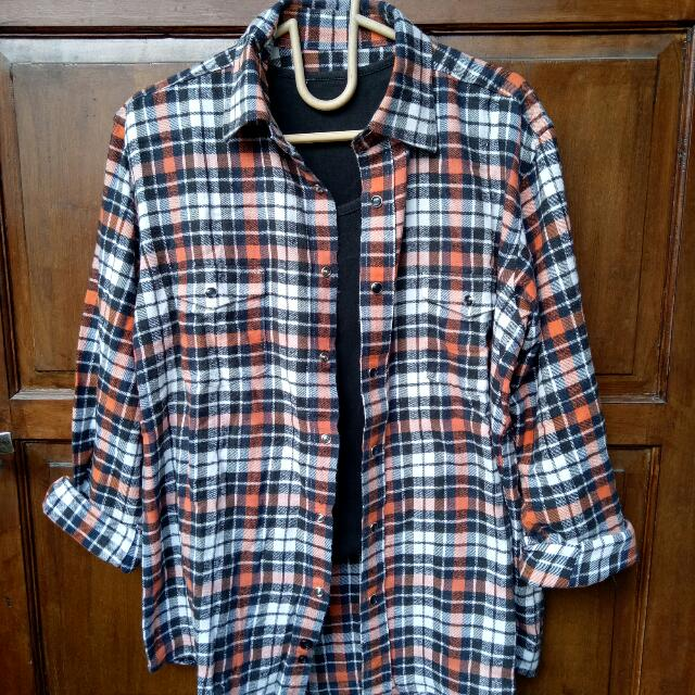 Flannel Import Fair Value Hitam