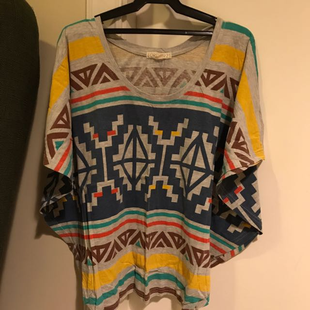Forever 21 Tunic Shirt
