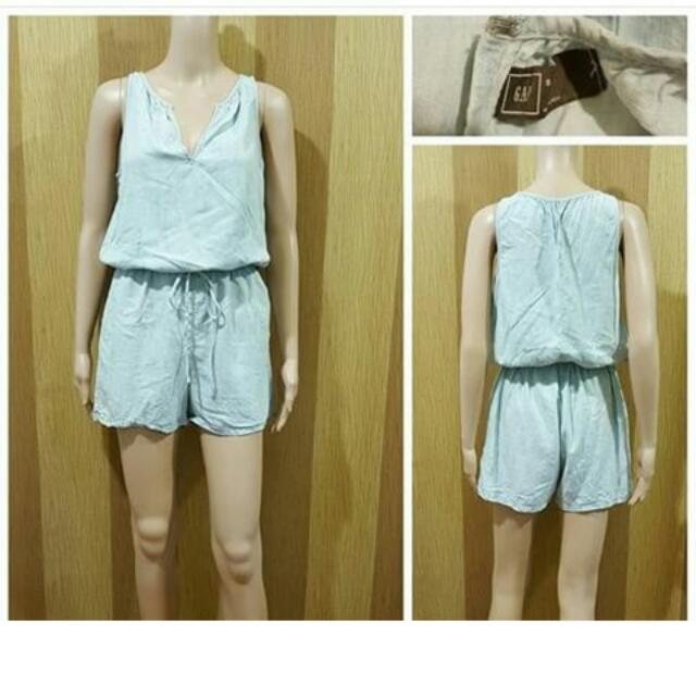 Gap Romper (Soft Denim)