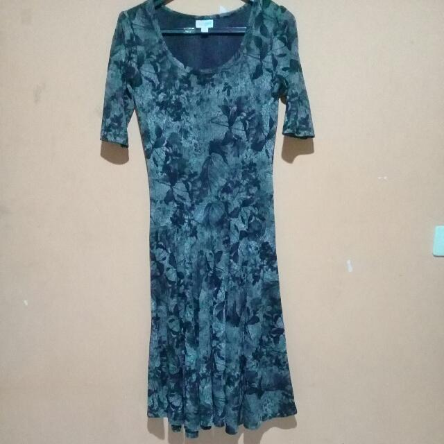 Reprice!!!Grey Midi Dress