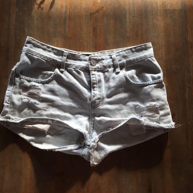 Gripp Denim Shorts