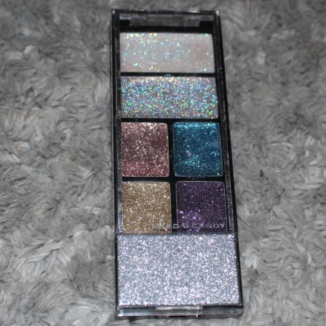 Hard Candy Glitter Gel Palette