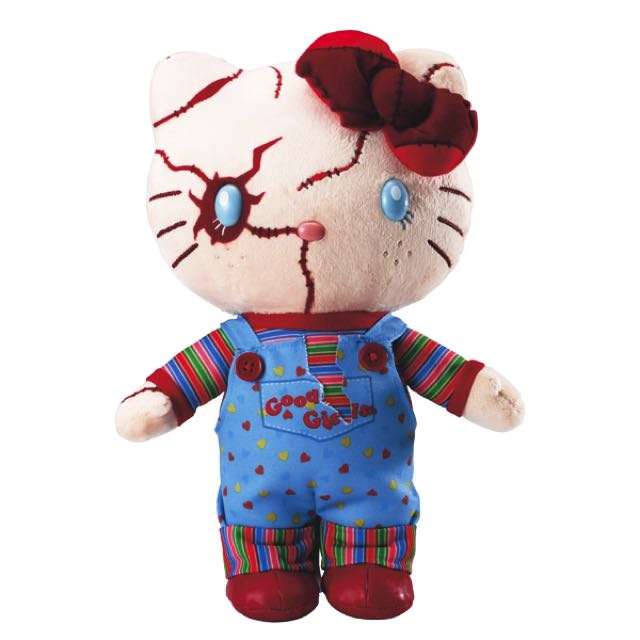 Hello Kitty Chucky Plush Toy (japan import)