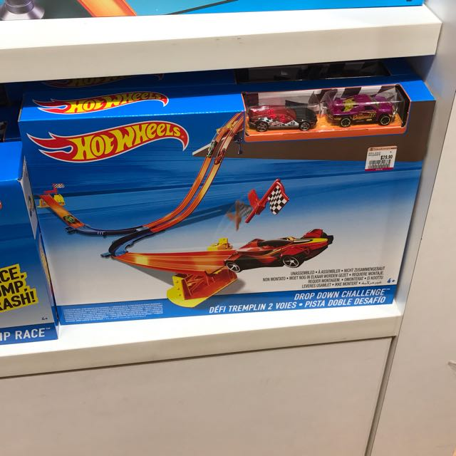 Hot Wheels Drop Down Challenge