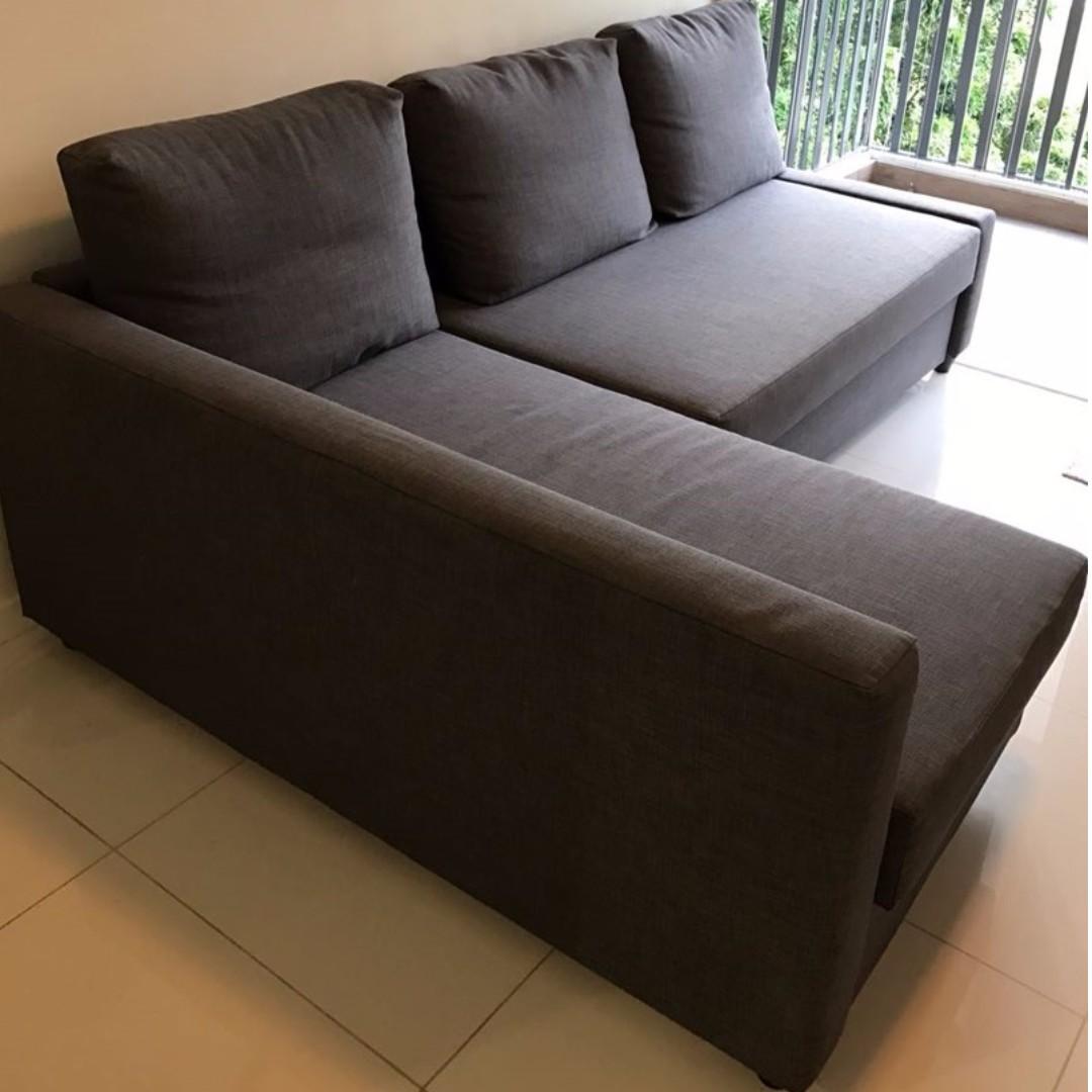 Reserved Ikea Sofa Bed Friheten Furniture Sofas On Carousell