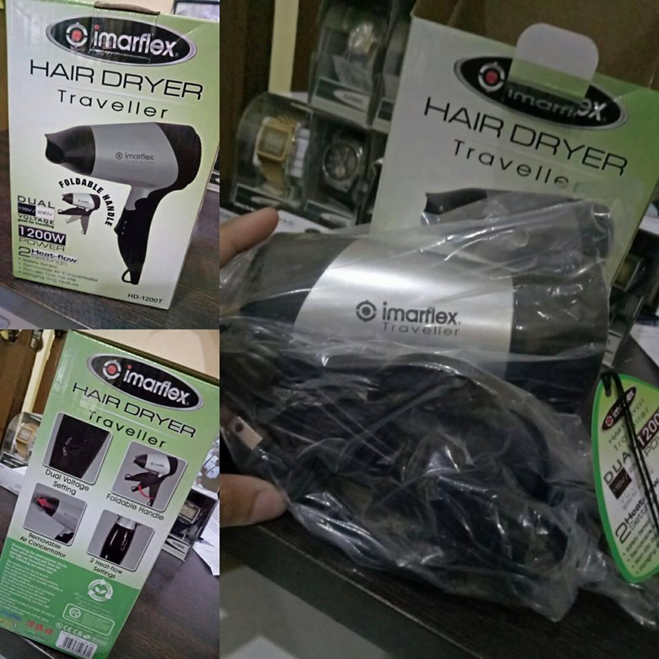 Imarflex HD-1200T Hair Dryer Traveller 1200W