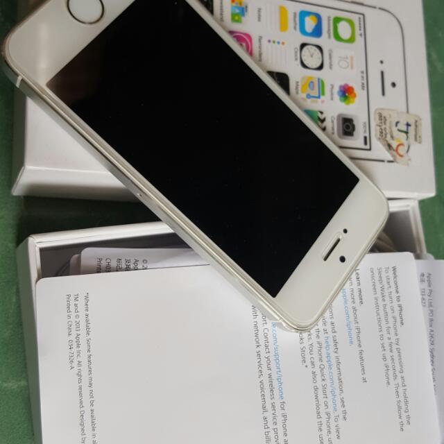 Iphone 5s 16gb Ex Resmi