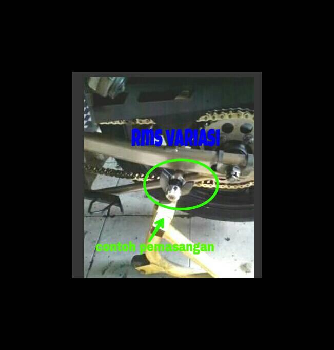 JALU STANDAR PEDOK/PADDOCK CNC MOTOR R15/R25/MT25 ( GOLD ), Auto Accessories on Carousell