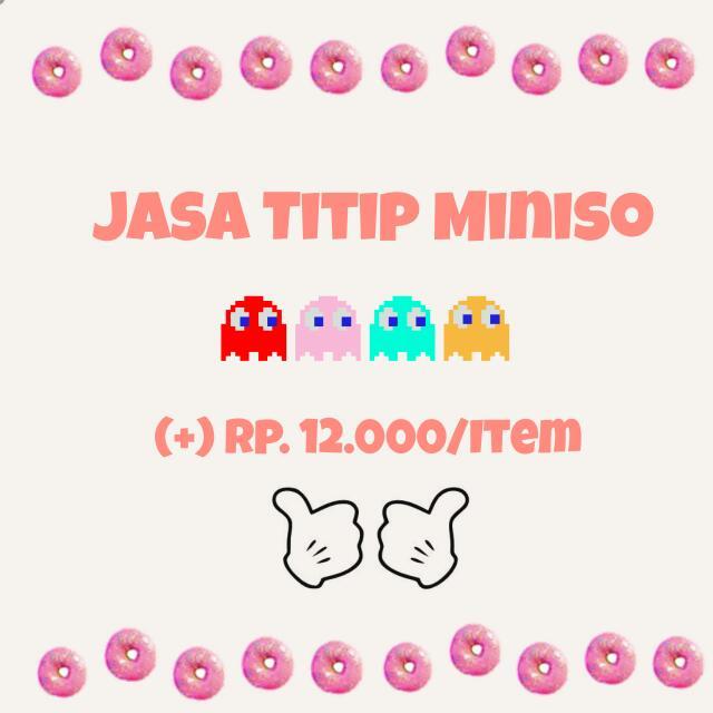 Jasa Titip Miniso (Termurah)