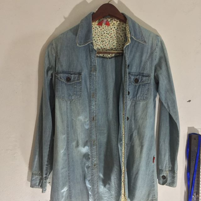 Jeans Outer Shirt