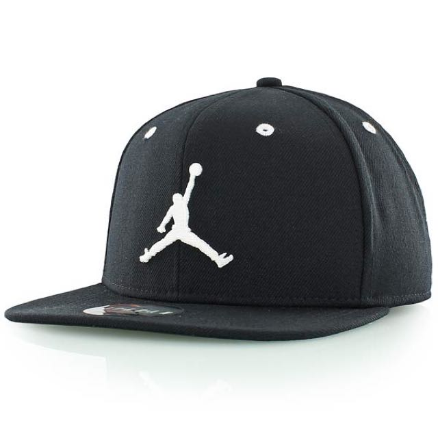 Repriced! Jordan Jumpman Snapback Black