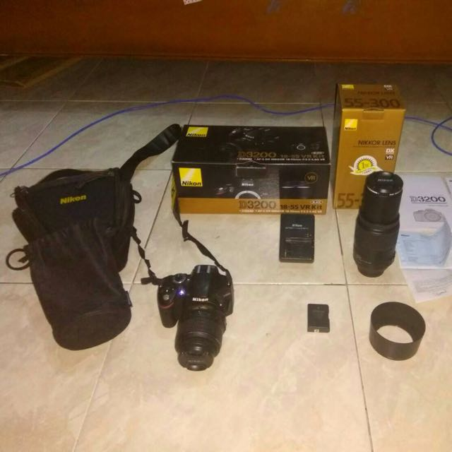 Kamera Nikon D3200