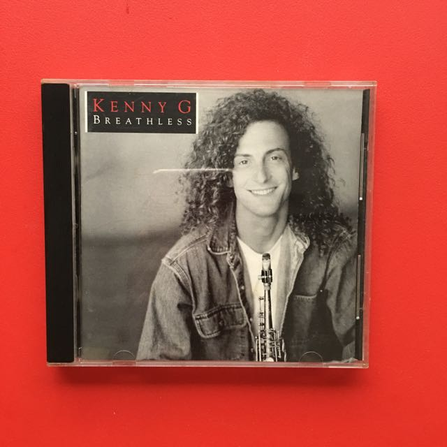 Kenny G Original Music CD - Breathless