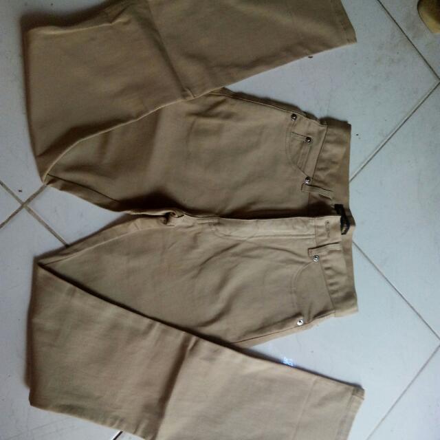 Khaki brown pants