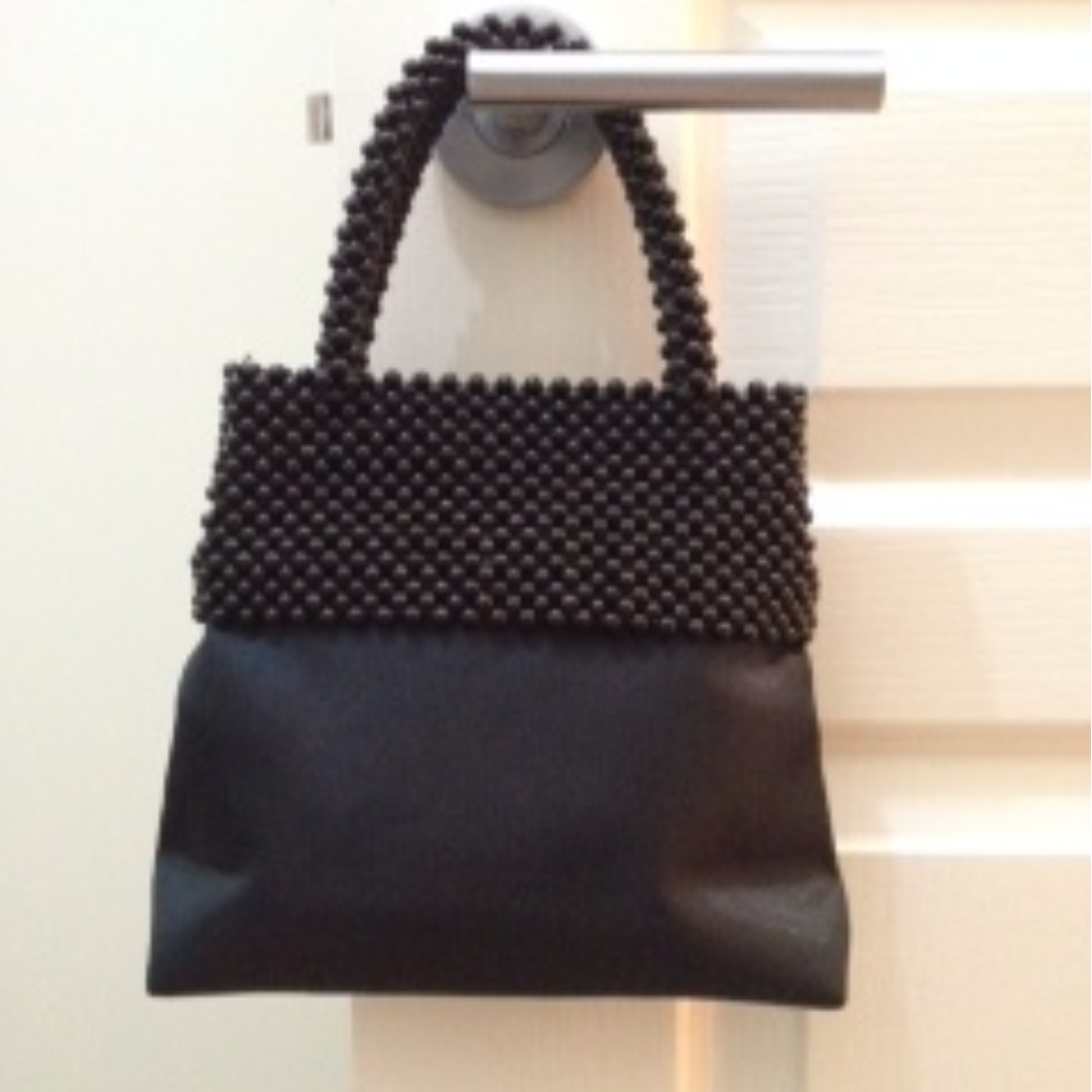 Ladies Black Evening Handbag