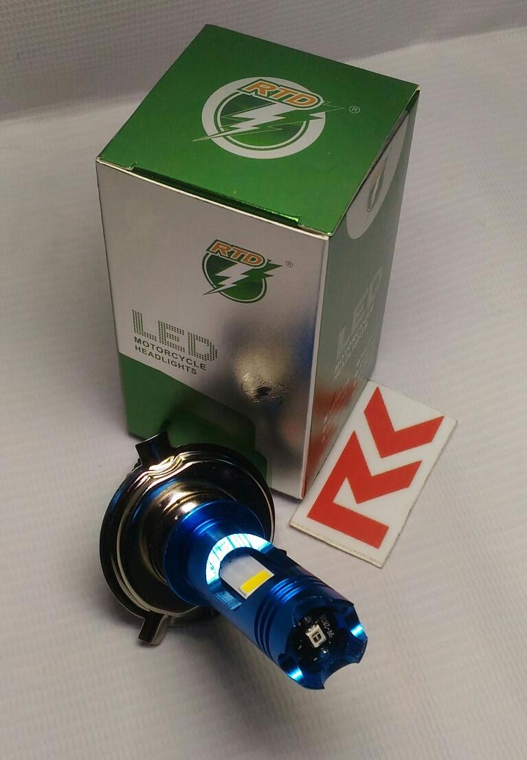 Lampu Utama Led Motor H4 Bohlam Led Hs1 Rtd Pnp Arus Dc