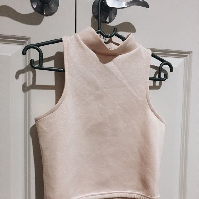 Light Pink Crop-Top From South-Africa
