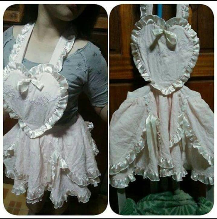 Lolita Heart Apron