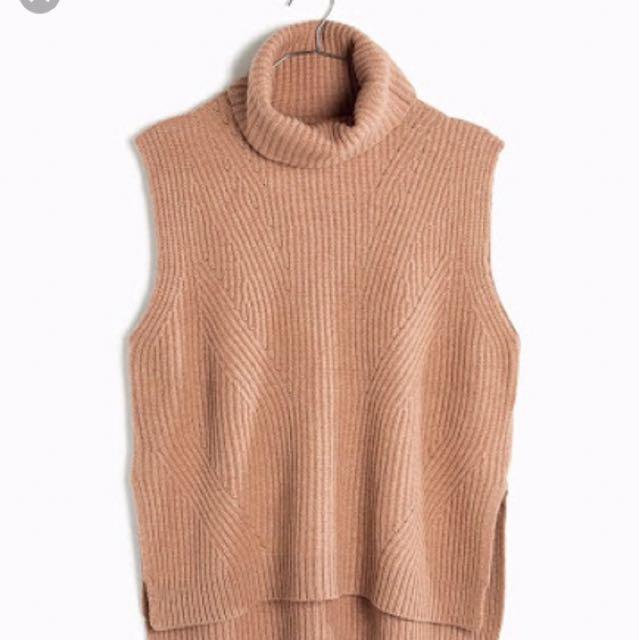 Madewell Contour Turtleneck 100% Merino Wool