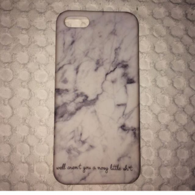 Marble iPhone 5/S/SE Case