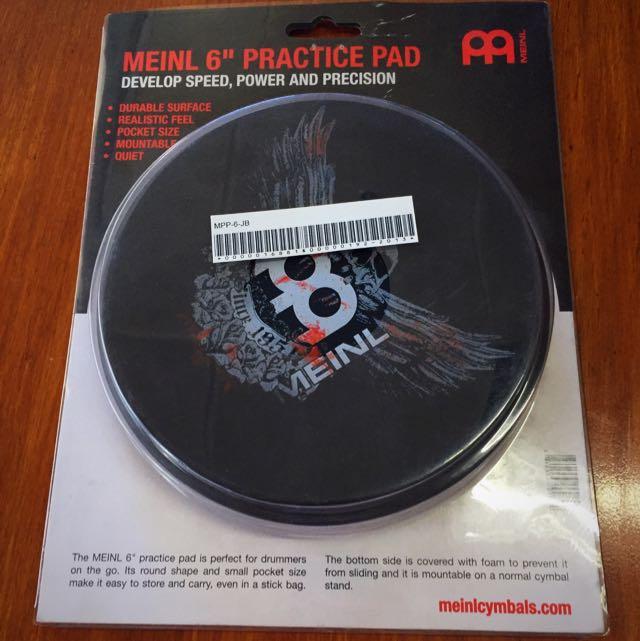 Meinl Practice Pad 6inch