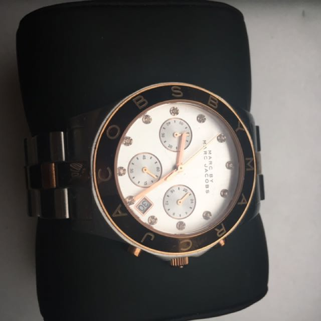 Marc Jacobs Duo-tone Watch