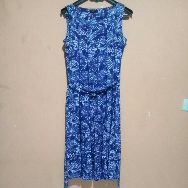 Reprice!!!Midi Dress Flower