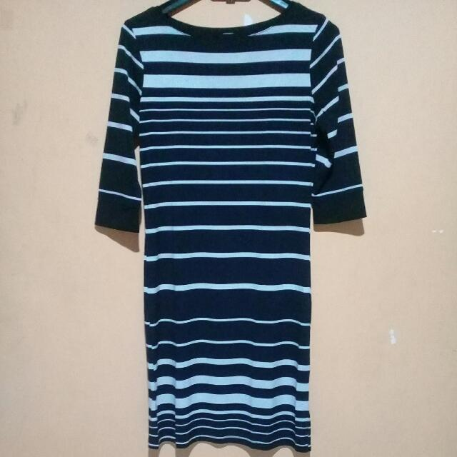 Midi Dress Stripe