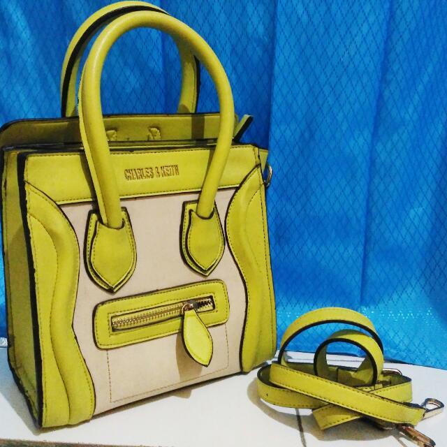 mini bag yellow (bukan ori)
